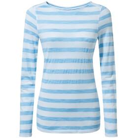 Craghoppers NosiLife Erin Longsleeved Shirt Women mediterranean blue stripe